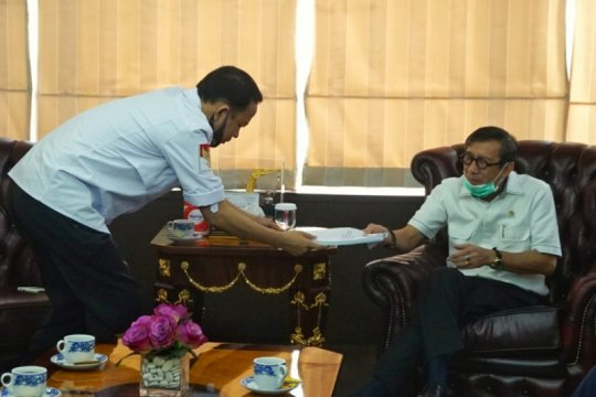 Temui Menkumham, kubu Muchdi PR laporkan hasil munaslub Berkarya