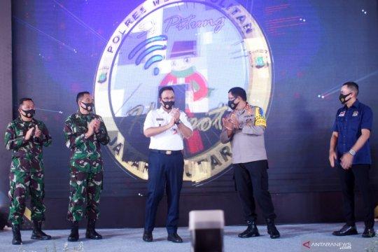 Polres Jakarta Utara luncurkan aplikasi pemantauan COVID-19