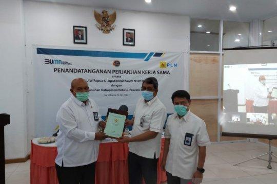 PLN - BPN kerja sama sertifikasi lahan sarana kelistrikan Papua Barat