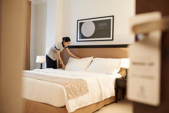 Tamu hotel meningkat berkat jaminan kebersihan