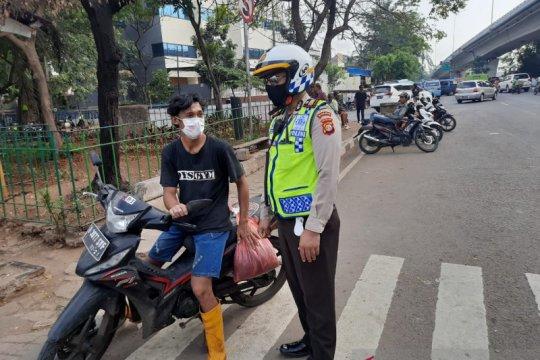 Operasi Patuh Jaya di Jakbar tindak 287 pengendara