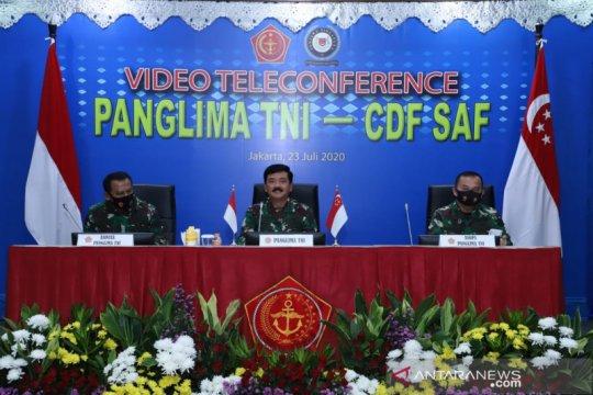 Panglima TNI-Pangab Singapura bahas latihan militer