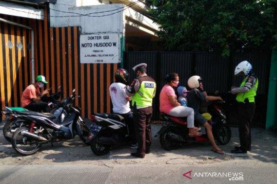 Satlantas Jakpus jaring 204 pelanggar Operasi Patuh Jaya