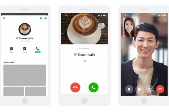 LINE dukung bisnis lokal dengan fitur panggilan terbaru