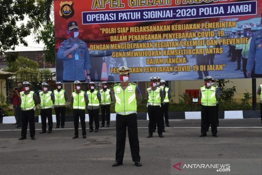 Kapolda Jambi: Operasi Patuh untuk melindungi masyarakat bukan hukuman