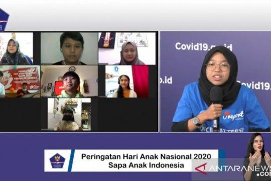 Anak Indonesia ceritakan kegiatan positif selama pandemi