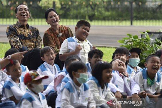 Presiden dan Ibu Negara minta anak-anak terapkan protokol kesehatan