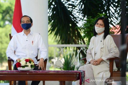 Presiden dan Ibu Negara: Senyum anak Indonesia penambah semangat kerja