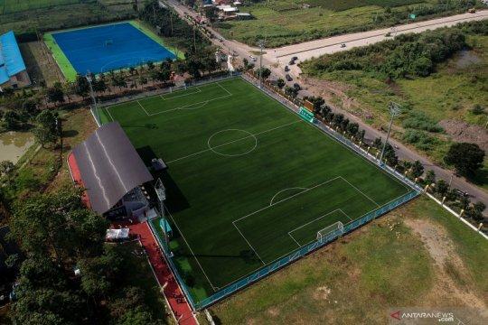 Lapangan untuk latihan Piala Dunia U-20