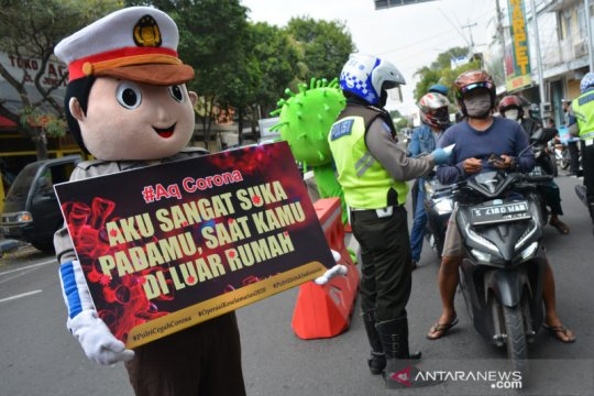 Jawa Timur tertinggi pelanggaran lalu lintas