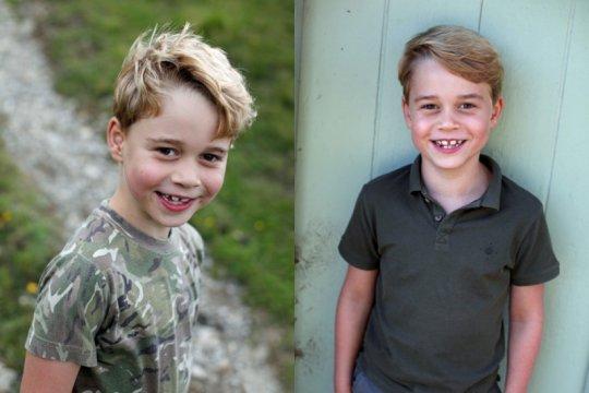 Pangeran George genap tujuh tahun, Kate dan William berbagi foto baru