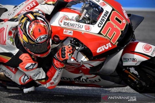Nakagami melesat di puncak FP2 MotoGP Teruel