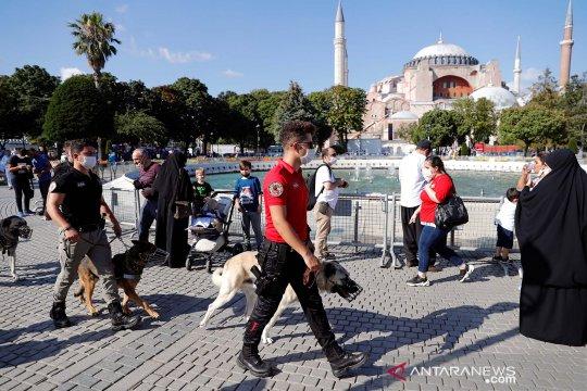 Turki wajibkan penumpang yang tiba miliki tes PCR negatif