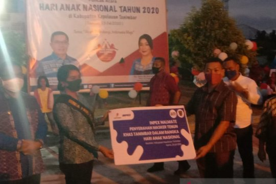 INPEX serahkan bantuan sosial untuk masyarakat Tanimbar