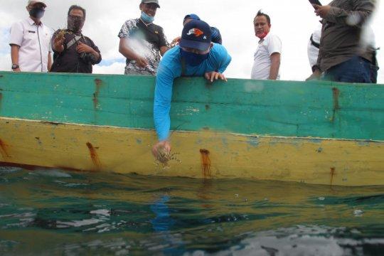 KKP lepasliarkan lobster di lokasi karamnya Kapal HMAS Perth