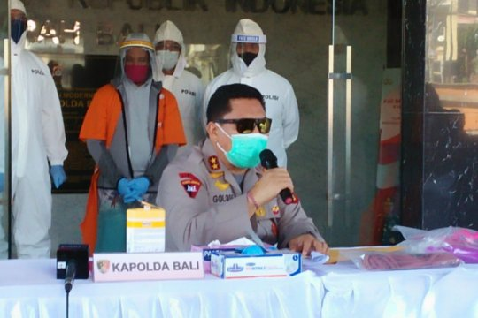Polda Bali ringkus buronan Interpol kasus penipuan investasi