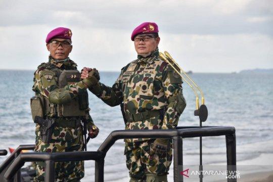 Kasal diangkat jadi warga kehormatan Korps Marinir