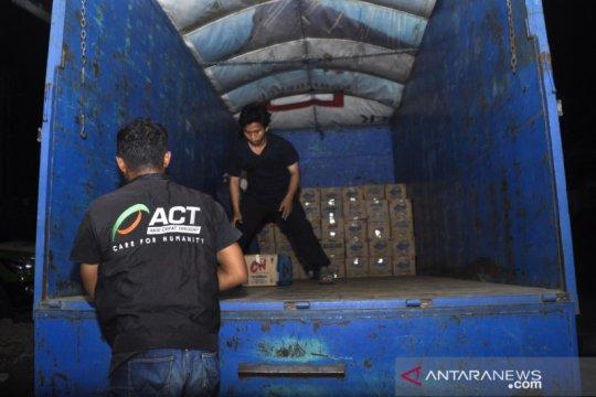ACT Sulteng kirim lima ton bantuan bagi penyintas banjir Luwu Utara