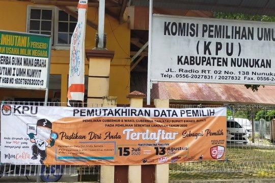 KPU Nunukan coklit data pemilih pilkada hingga perbatasan Malaysia