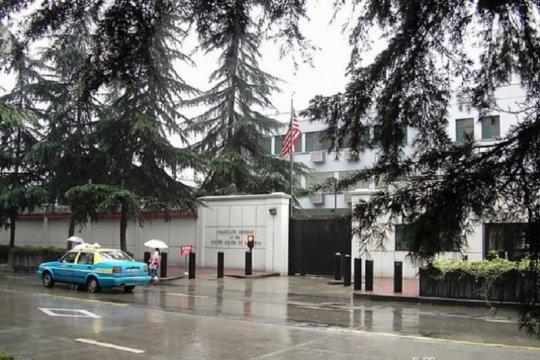 Konsulat AS di Chengdu pernah didemo atas pengeboman Kedubes China