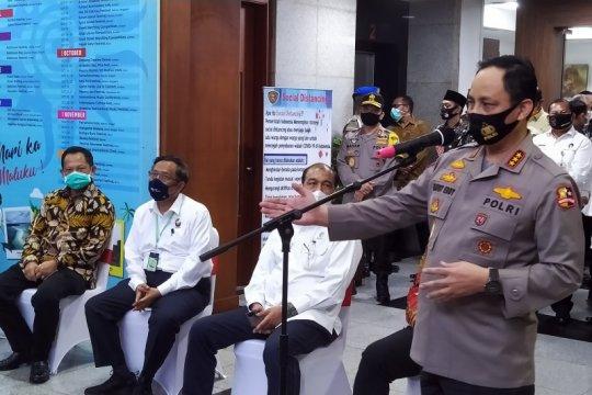 Pejabat kepolisian diminta lebih serius laksanakan protokol kesehatan