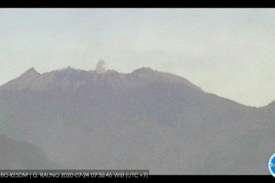 PVMBG: Aktivitas Gunung Raung masih fluktuatif dan berstatus waspada