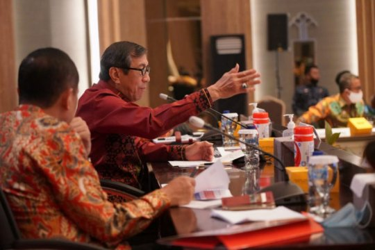 Yasonna instruksikan jajaran gunakan anggaran demi kepentingan rakyat