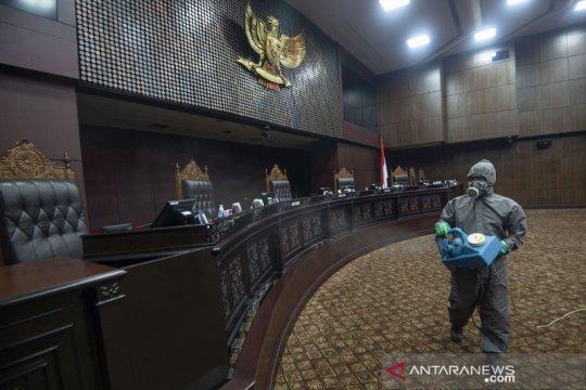 Sterilisasi gedung Mahkamah Konstitusi