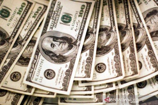 Kurs dolar AS naik tipis setelah sentuh terendah dua tahun