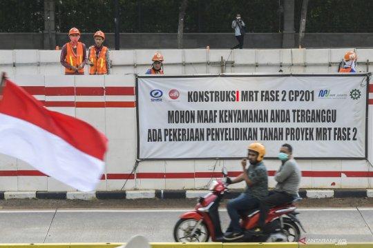 Tugu Jam Thamrin akan direlokasi untuk MRT fase 2A