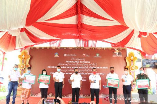 Empat rumah sakit milik Pemprov Bali terapkan transaksi QRIS