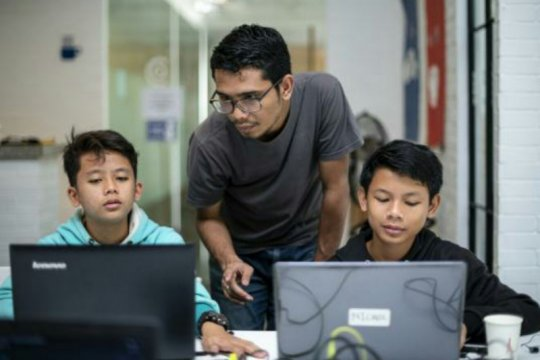 Puluhan anak muda dari keluarga kurang mampu unjuk inovasi digital