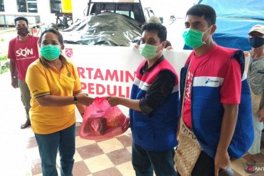 Pertamina RU VII salurkan 250 bahan pokok bagi korban banjir Sorong