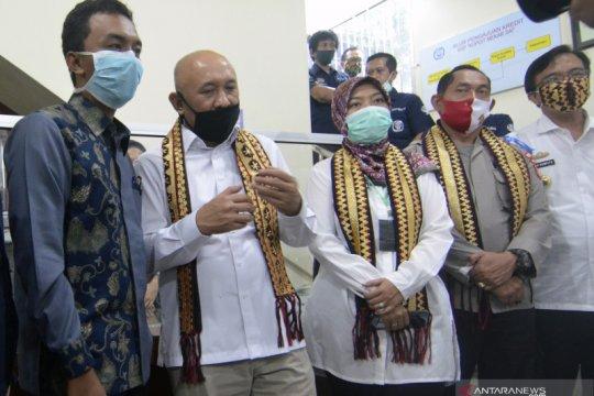 Kunjungan Menteri Koperasi di Bandar Lampung