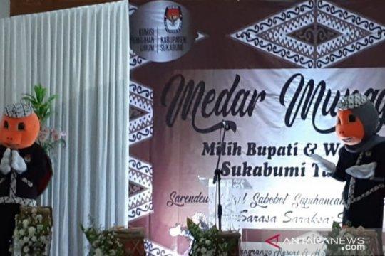 KPU Kabupaten Sukabumi luncurkan maskot Pilkada 2020