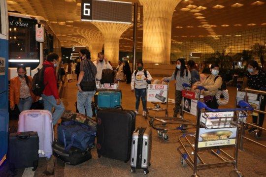 KJRI Mumbai repatriasi 64 WNI yang tertahan di India
