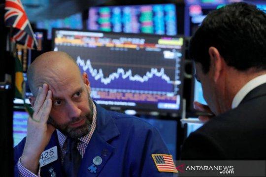 Wall Street dibuka merosot setelah reli masif sesi sebelumnya