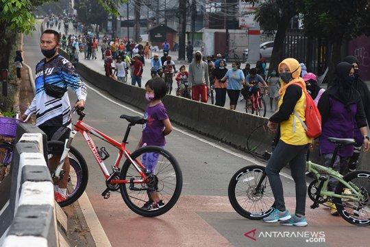 Kadishub sebut telah koordinasi dengan pengelola tol soal jalur sepeda