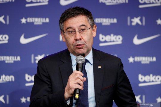 Presiden Barcelona buka suara terkait rumor Neymar, Martinez dan Messi
