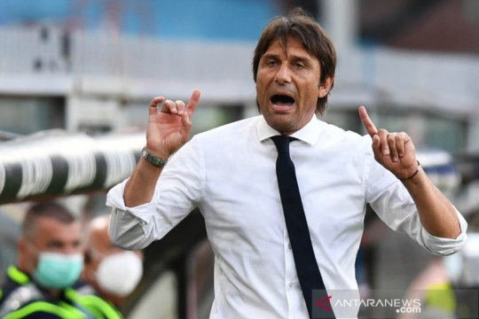Pelatih Inter Milan Antonio Conte diskors untuk dua pertandingan