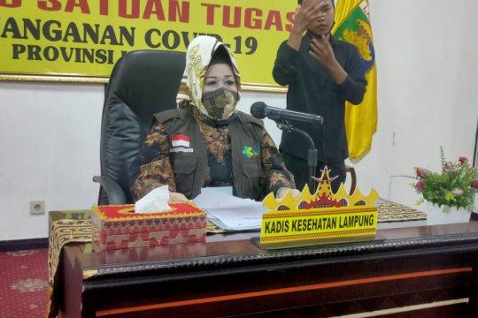 Dinkes : Pasien sembuh COVID-19 di Lampung bertambah tiga orang