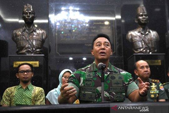 Kasad tegaskan TNI AD kawal pembangunan lab PCR-uji klinis antivirus