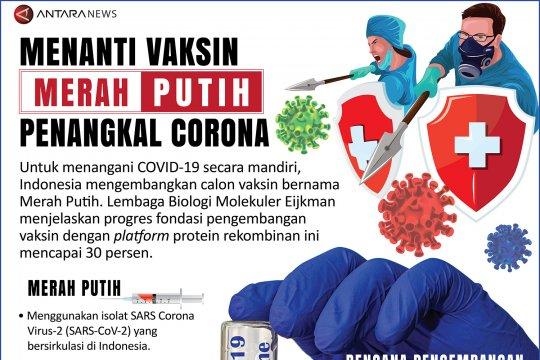 Menanti vaksin Merah Putih penangkal Corona