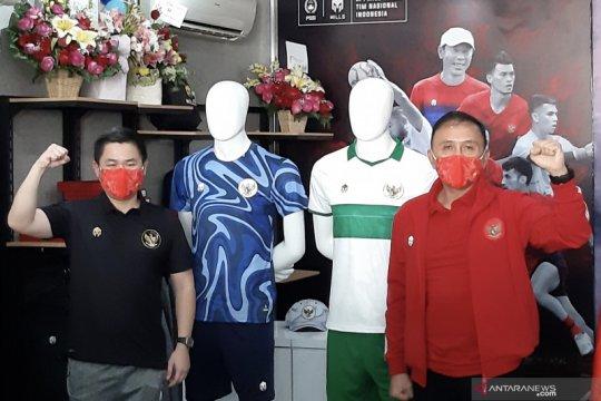 PSSI apresiasi seragam tandang timnas bertema khatulistiwa