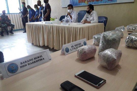 BNNP Lampung menyita sabu-sabu 16,5 kg