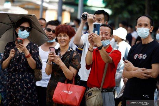 Pesan perpisahan Kedutaan AS ditanggapi negatif oleh warganet China