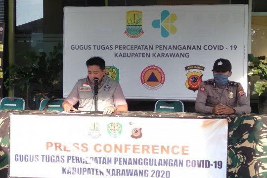 Kasus positif COVID-19 di Karawang melonjak 14 menjadi 41 orang