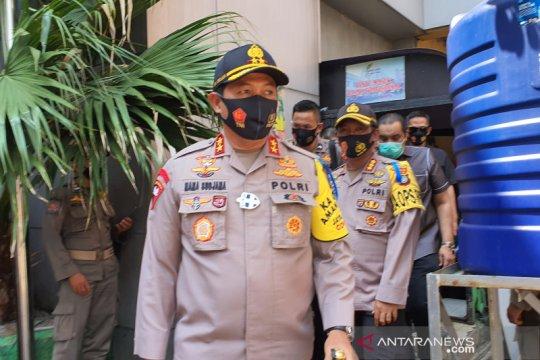 Kapolda Metro Jaya tinjau protokol kesehatan di Metro Atom Pasar Baru