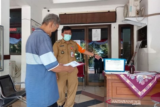 "Pelayanan di Kelurahan Harapan Mulia gunakan ""drop box"""