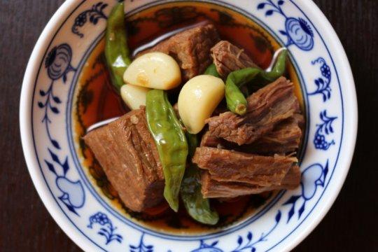 Menu Idul Adha - Olahan daging sapi ala Korea Jangjorim